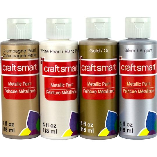 Basic Metallic Paint Set By Craft Smart Michaels Metallic