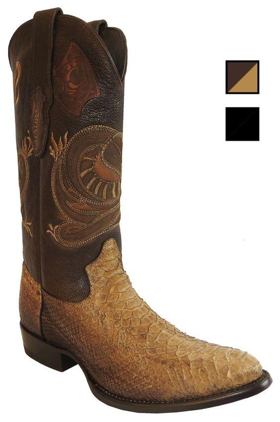 Cuadra Herren Western- Cowboystiefel (Schlangenleder) 2C01PH Lederwaren Herren Stiefel