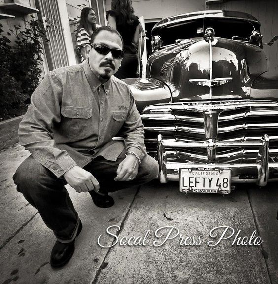 Emilio Rivera the car and black n white | Candy baybay ...