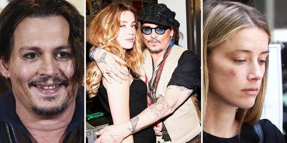Amber Heard posted pictures with bruises against Johnny Depp