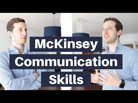 Talk Like A Consultant Top Down Communication Explained Management Consulting Skills Youtube Communication Skills Skills Management