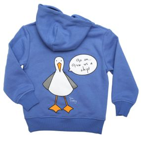 Give us a Chip Hoodie - Creek Blue