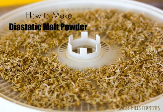 how to make malt syrup from malt powder