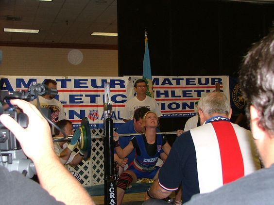 Setting a World Record Squat at AAU Nationals I was 13. That lift made the CBS evening news almost 8 yrs ago.