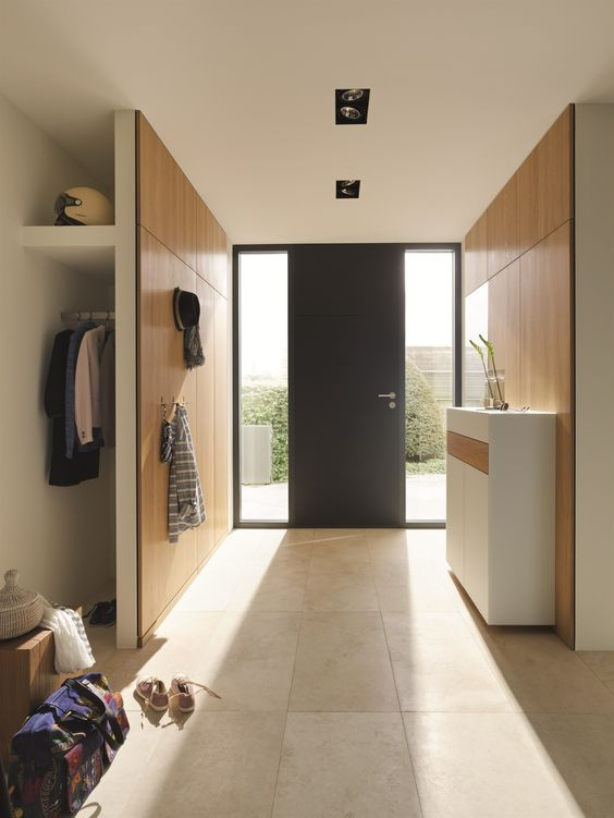 WOODEN HALLWAY UNIT CUBUS PURE CUBUS PURE COLLECTION BY TEAM 7 NATÜRLICH WOHNEN | DESIGN SEBASTIAN DESCH