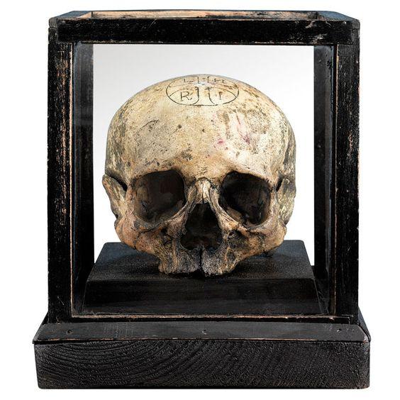Vehmic Court Oath Skull