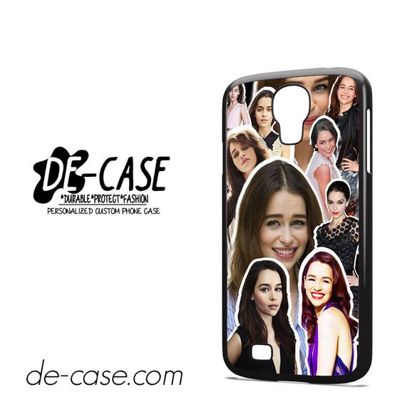 Emilia Clarke Collage DEAL-3935 Samsung Phonecase Cover For Samsung Galaxy S4 / S4 Mini