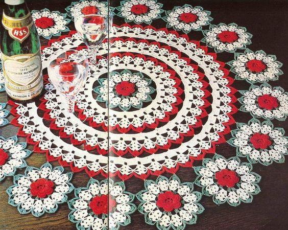 crochet tablecloth doilies crochet carpetas de crochet lace crochet