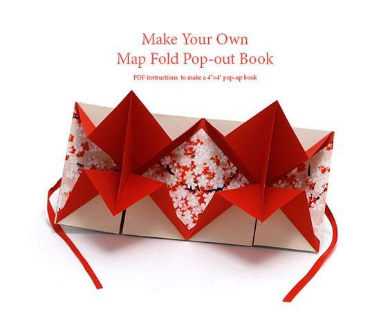 Dies ist eine Auflistung für eine digitale PDF Anleitung ein 4 Quadrat Pop-out-buchen, mit einer einfachen Origami-Falten. Die Anweisungen befolgen, machen Sie ein Buch, das erscheint, wenn geöffnet. Der Mittelteil ist perfekt für ein Bild, Gedicht, Collage oder andere Kunstwerke. Die obenstehenden Bilder zeigen Beispiele von fertigen Buch.  Sobald Sie das Buch im Kit gemacht haben, werden Sie andere Bücher dieser Art mit Ihrem eigenen Papier in jeder Quadratmeter Größe machen.  • Werkzeuge…