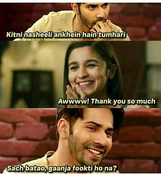 Download Varun Dhawan Funny Memes Alia Bhatt Funny Memes Images Bollywood Funny Jokes Image Jokes Quotes Fun Quotes Funny Some Funny Jokes