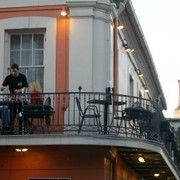 Balcony dining is a must-try activity in the French Quarters during the summer heat.