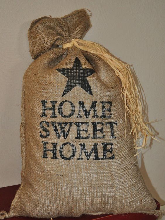 17 x 27 decorative burlap bags by marycottrellwilson on
