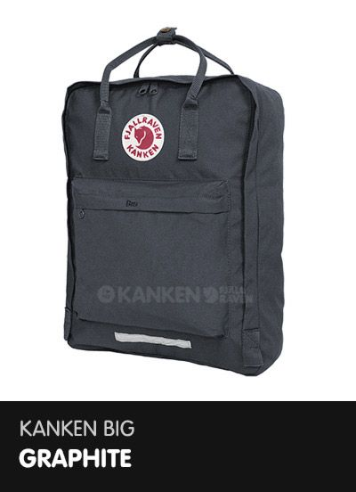 black and graphite kanken classic