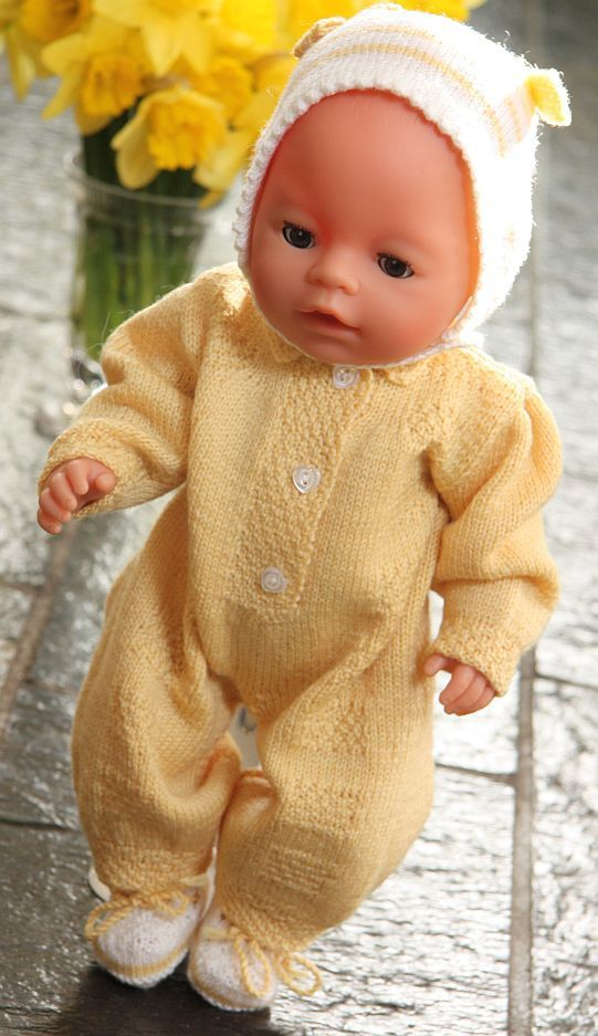 Best Free Knitting Patterns Baby Born Dolls Clothes Image Collection