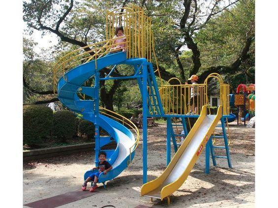 Sl 22 コンビすべり台 すべり台 ランドスケープデザイン 公園 遊具