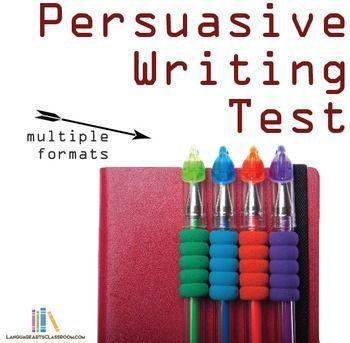 Persuasive essay final exam