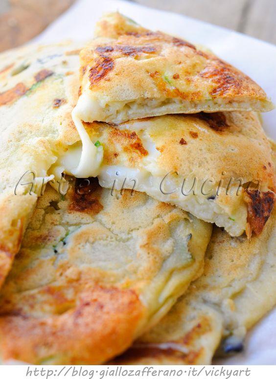 Pancake con melanzane e zucchine veloci vickyart arte un cucina