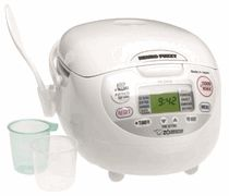 Zojirushi NS-ZCC18 Microm Fuzzy Logic Rice Cooker and Warmer