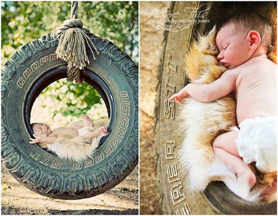 @Kaitlyn Scott Picture This Images The Blog: In a Tire Swing: Tyler Texas Newborn Photography