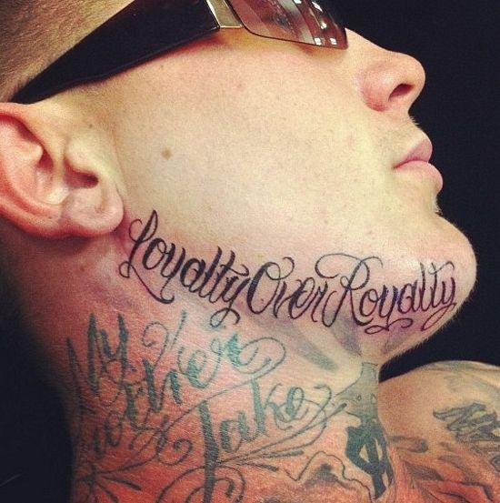 Loyalty in cursive