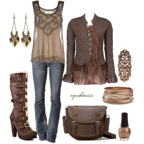 .: Tank Tops, Dream Closet, Steampunk Outfit, Steam Punk, Fall Outfits, I Love, My Style
