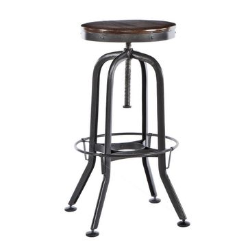 The Sitcom Vintage Counter Height Bar Stool Features