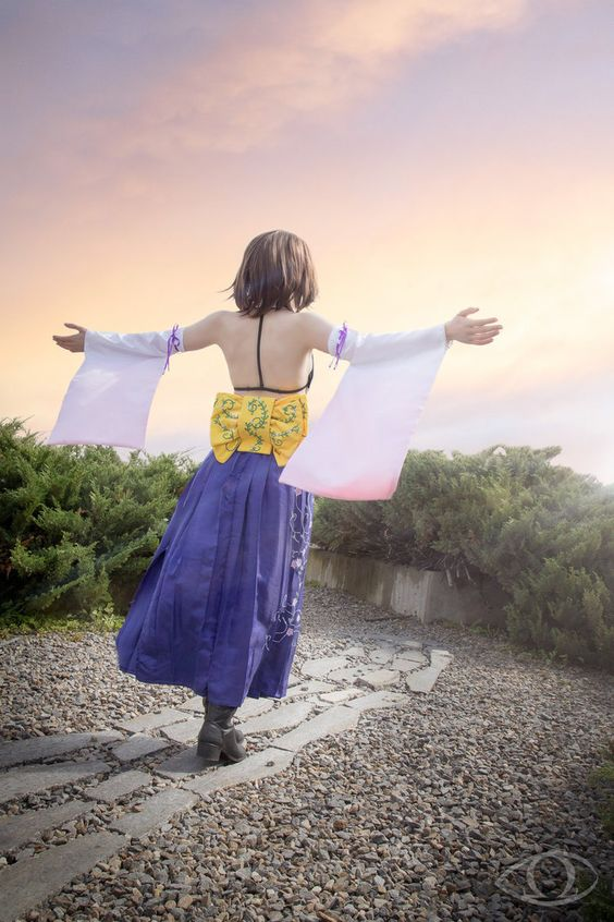 [Self] Summoner Yuna Cosplay #cosplay http://bit.ly/1Pirklu