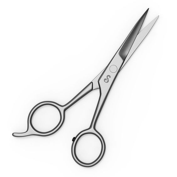 """5.5"""" Hair Cutting Scissors.  The scissors are 5.5"""" with cutting blades that measure 2"""". They have a beautiful satin finish and are surgical grade Japanese 420 stainless steel. Hand sharpened for extra sharp long-lasting cutting edges. Perfect for cutting your hair at home or keeping it trimmed between cuts. For all hair types. A must for every salon and household! Japanese stainless steel resists tarnish and rust and is easy to keep clean and disinfect!"""