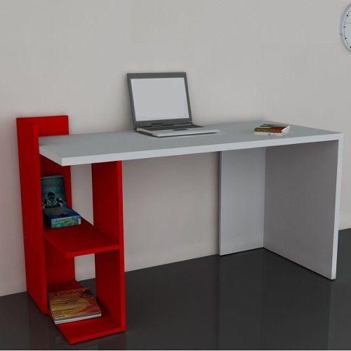 escritorio moderno mesa pc notebook mueble de oficina