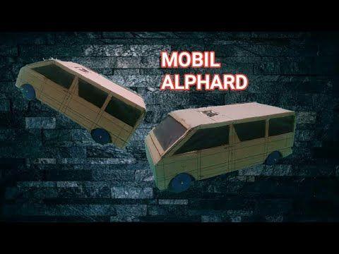 Bagaimana Cara Membuat Mobil Alphard Dari Kardus Part I