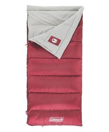 Love this Aspen Meadows 50-Degree Sleeping Bag on #zulily! #zulilyfinds
