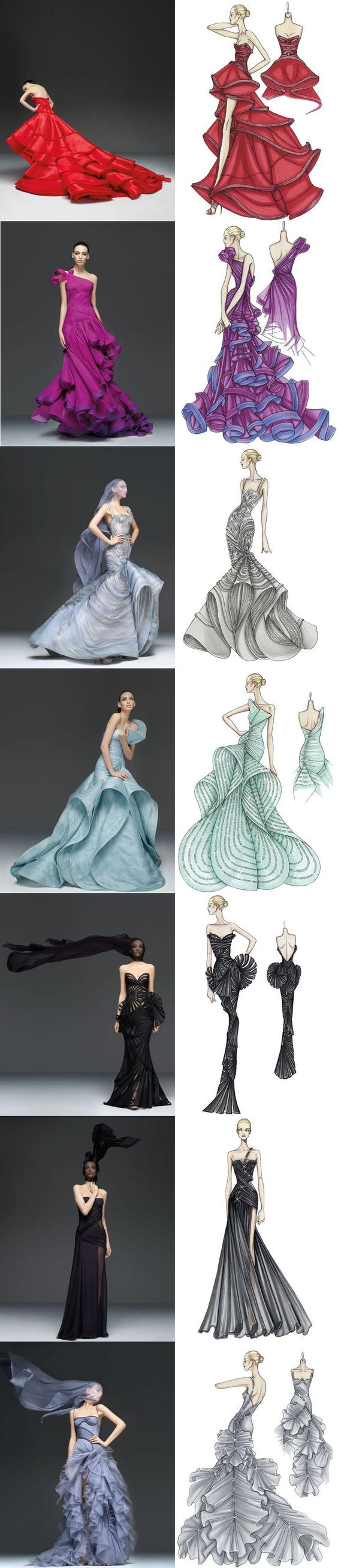 Sketches, Versace and Atelier on Pinterest