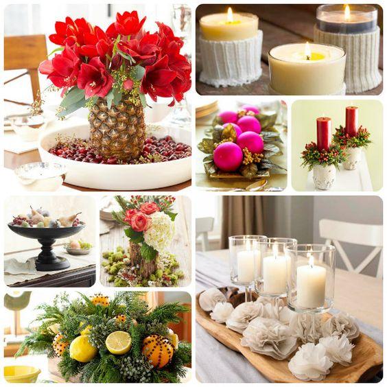 decorazioni e addobbi per la tavola a natale | decorazioni ... - Decorazioni Natalizie Tavola