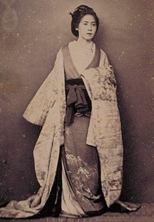 江戸時代の写真です。1863年(文久2年)、撮影はF・ベアト。 横浜のか ...