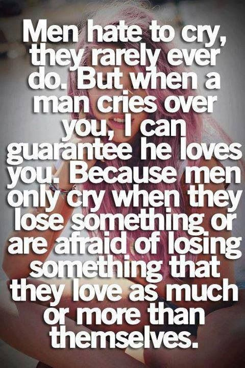 "This true! My boyfriend walked in a crowded hallway on the last day of school and didn't give a damn about what other guys or girls would think seeing him cry. He grabbed me and hug me and said ""I'm gonna miss you babe. You'll always be my girl and you are my future wife. I love you so much. Always remember that."" My boyfriend and I have been going out for 9 months. He's in Kentucky and I'm in Jersey! ❤ We gon' make it thru baby!"