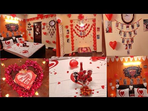 Anniversary Decoration Ideas At Home Surprise Decoration For