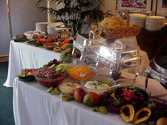 Buffet Tables: