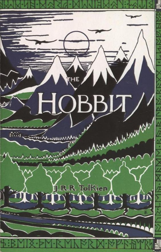 hobbit vintage book cover