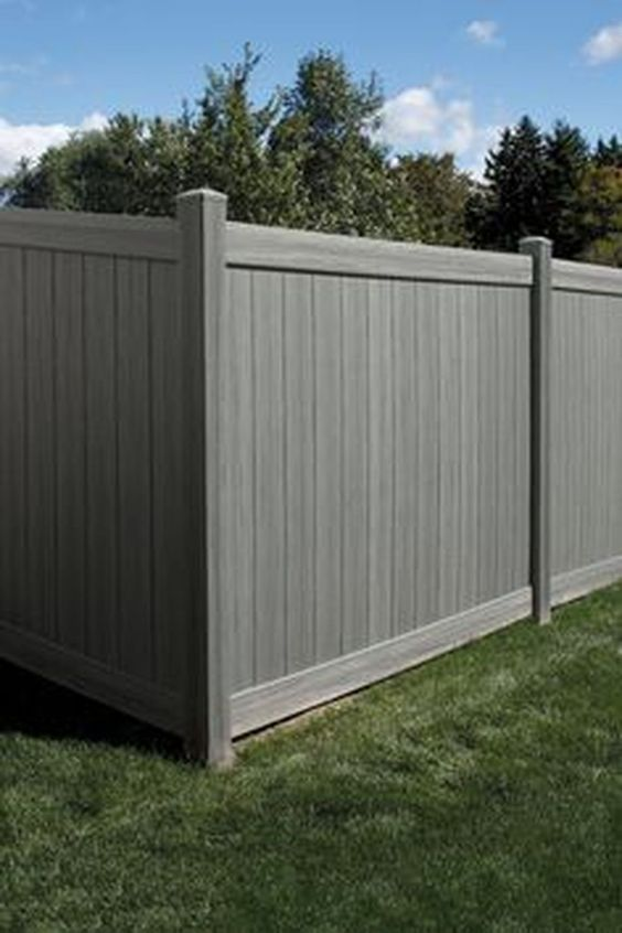 Modern Vinyl Fence 25 Best Inspirations To Decorate Your Backyard Recipegood Wood Fence Design Fence Design Fence Prices
