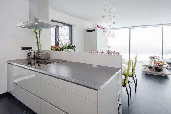 Keuken Verven Met Betonverf : verven die bij de rest van het interieur past. Keukenblad betonverf