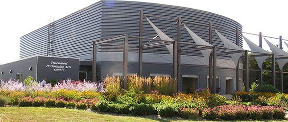 beautiful landscaping | TrueBlood Performing Arts Center, Washington Island, WI