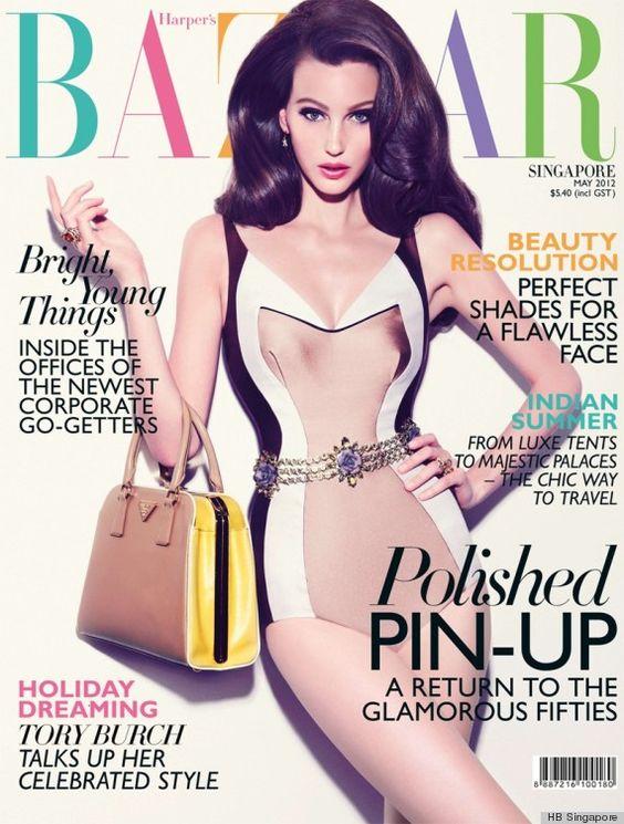 Veroniek for Harper's Bazaar Singapore