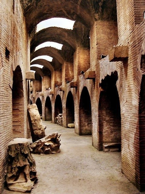 Path of the Gladiator, Colosseum. Rome, Italy. | Italy Art ...