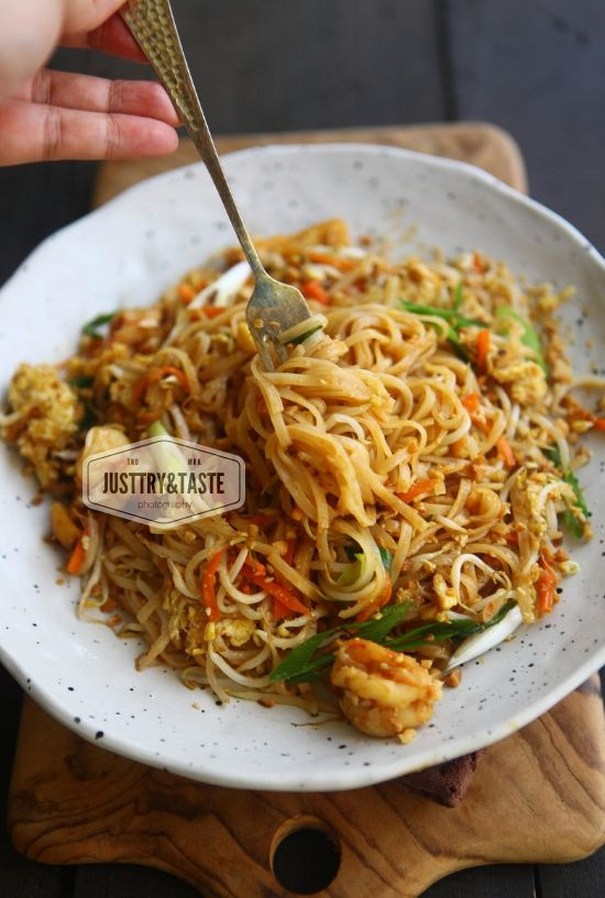Resep Pad Thai Jtt Resep Masakan Vietnam Makanan Resep