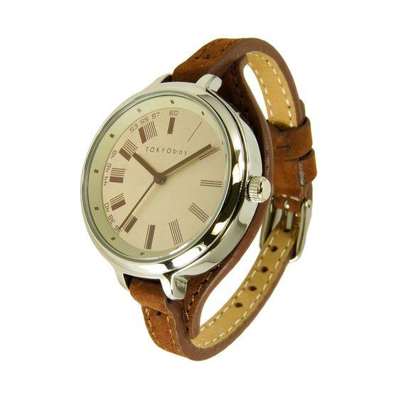Code watch - brown, green