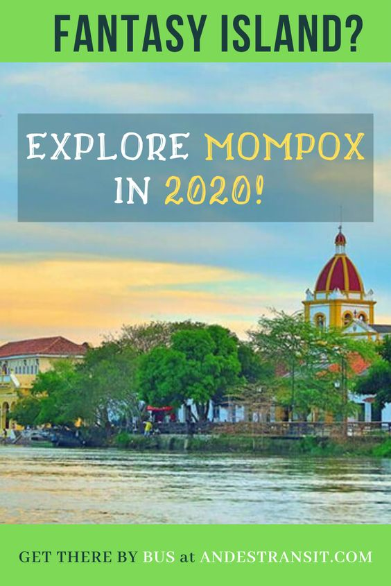 Colombian Fantasy Island | Visit Mompox in 2020 (Pinterest)