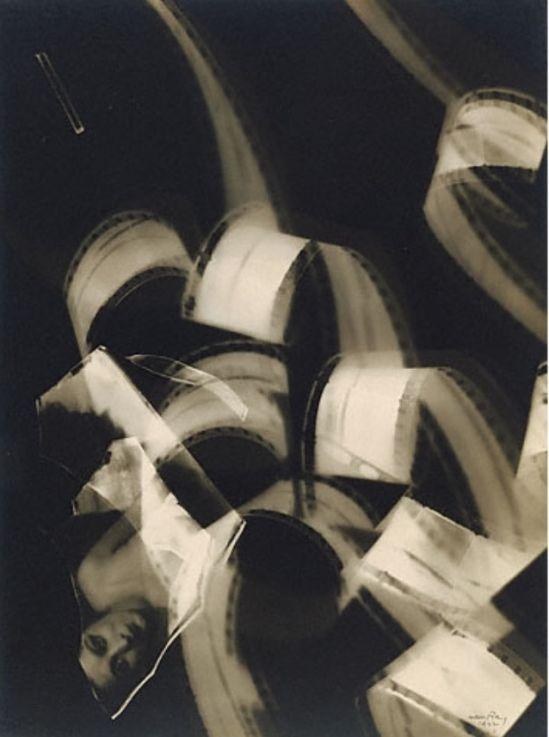 Man ray. Filmstrips with Kiki 1922