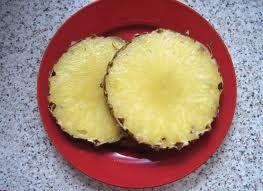Bildergebnis für ananasscheibe