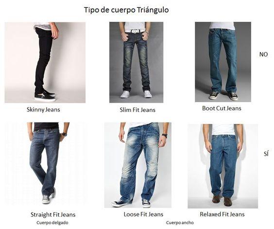 Tipos de jeans según tu tipo de cuerpo
