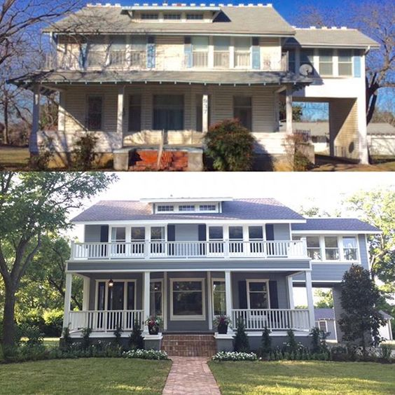 Fixer Upper, Before After And House On Pinterest